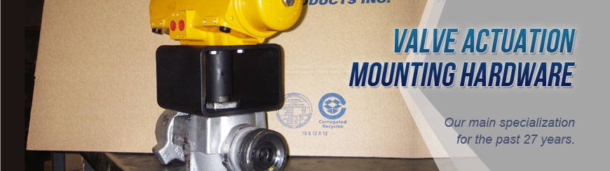 Edmonton Valve Actuation Mounting Hardware