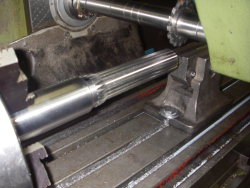 cutting a fisher spline coupler